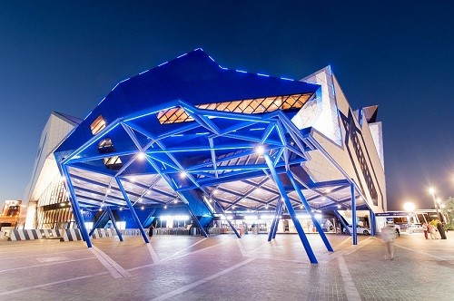 Perth Arena - night view