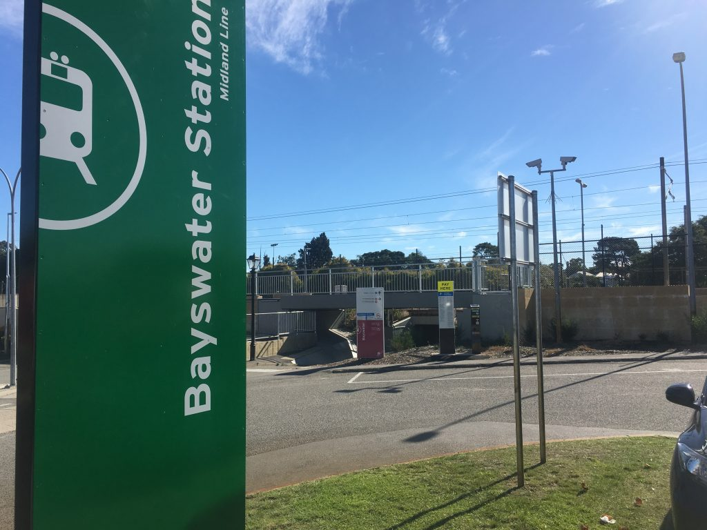 Baywater Train Station