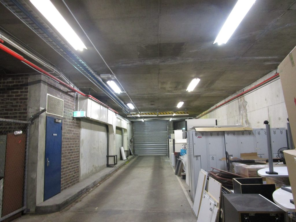 1 view of tunnel area