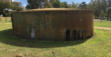 1 Water tank at Collier Park