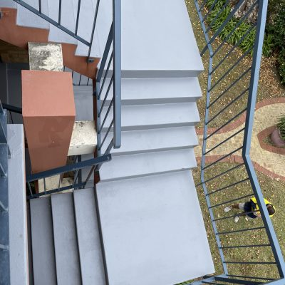 Pic 3 After the stairwell coating